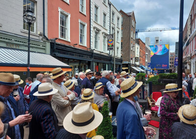 Bloomsday at Davy Byrnes, Dublin